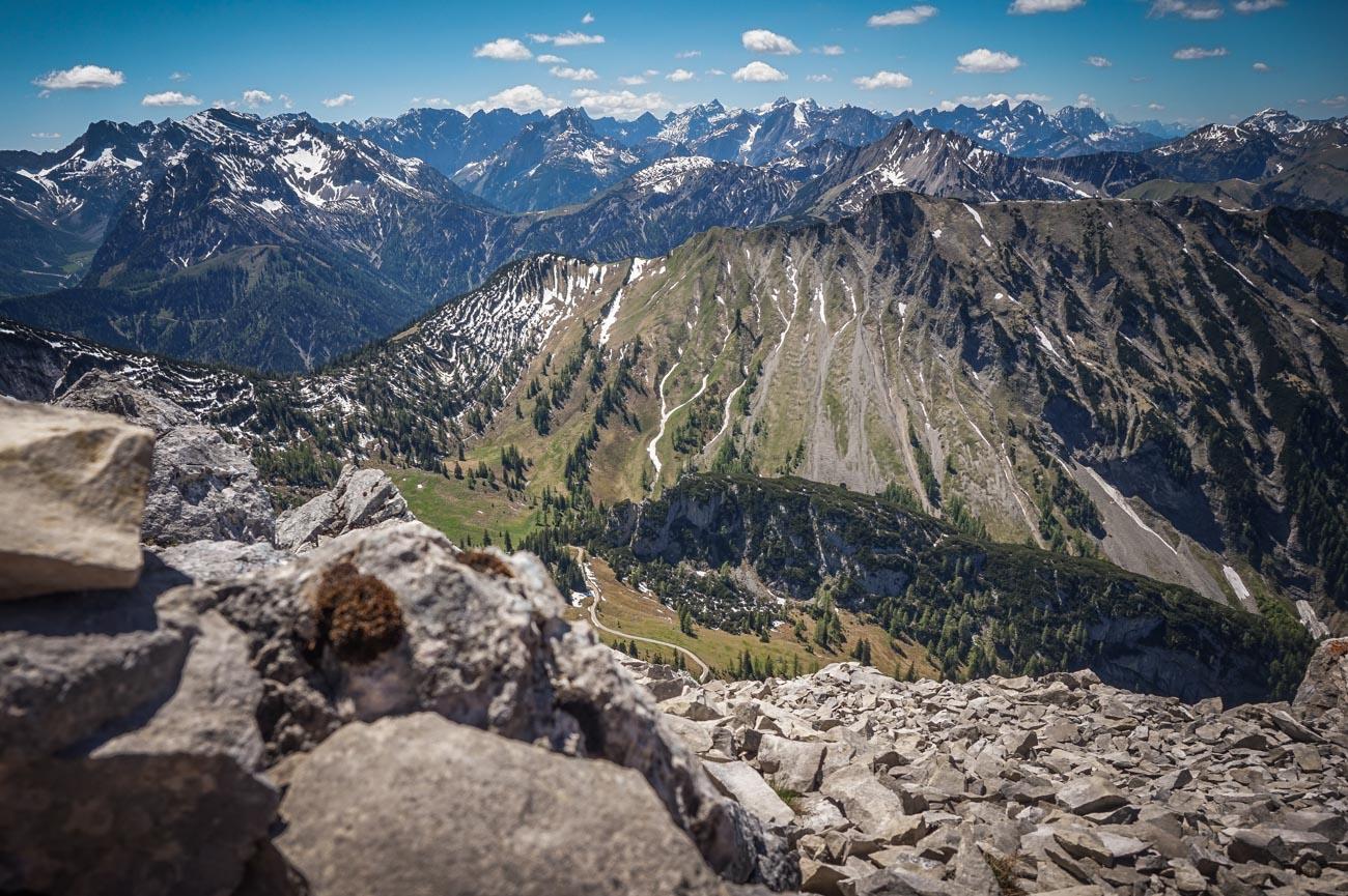 Seekarspitze Panorama