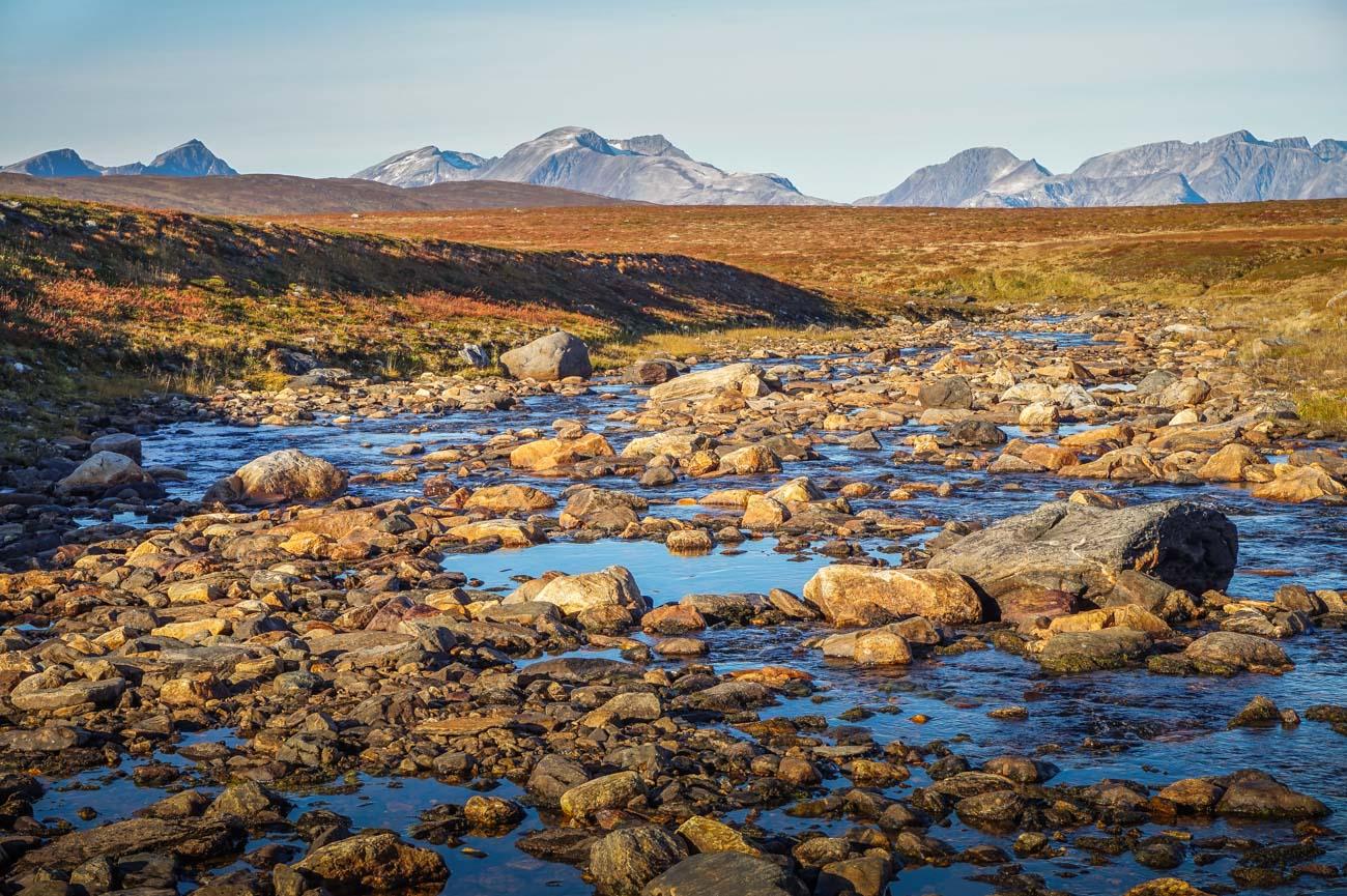 Arktisches Fjell