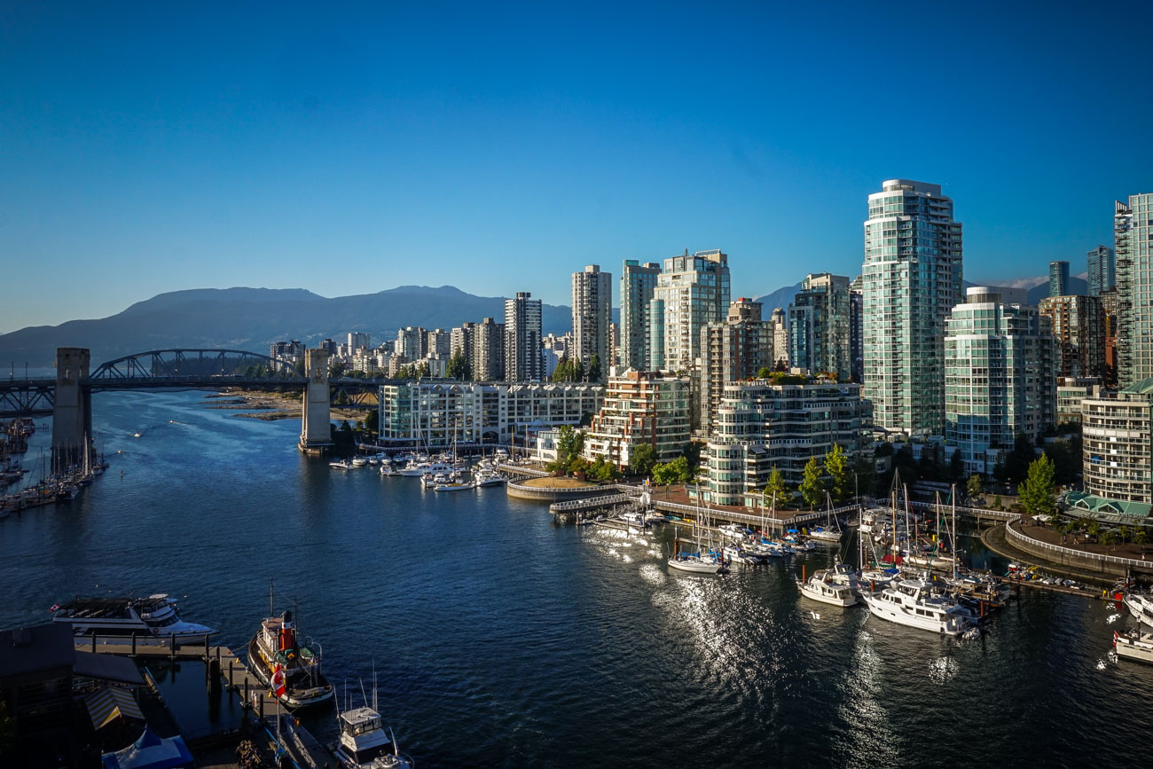 Hafenanlagen in Vancouver