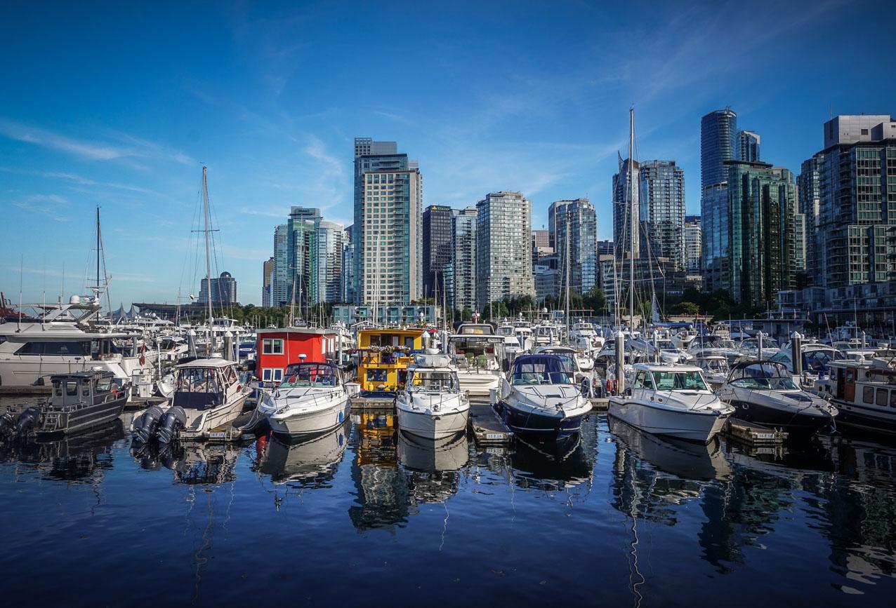 Vancouver-Hafen