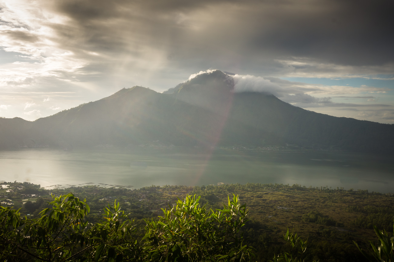 Der Gunung Agung (3031 m)