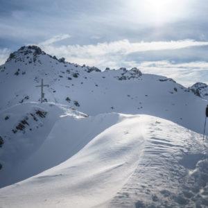 Der Gipfel der Mölser Sonnenspitze