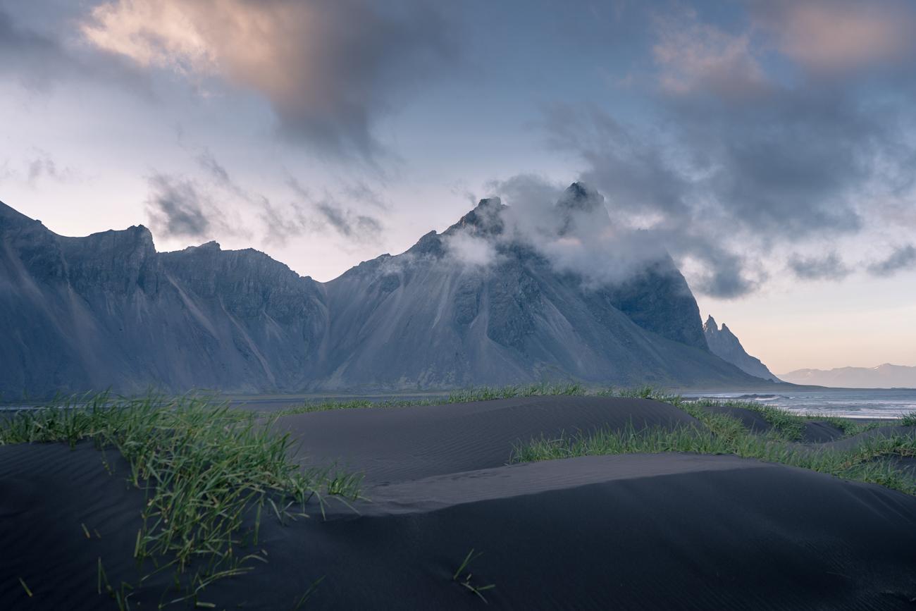 Bergmassiv des Vestrahorn