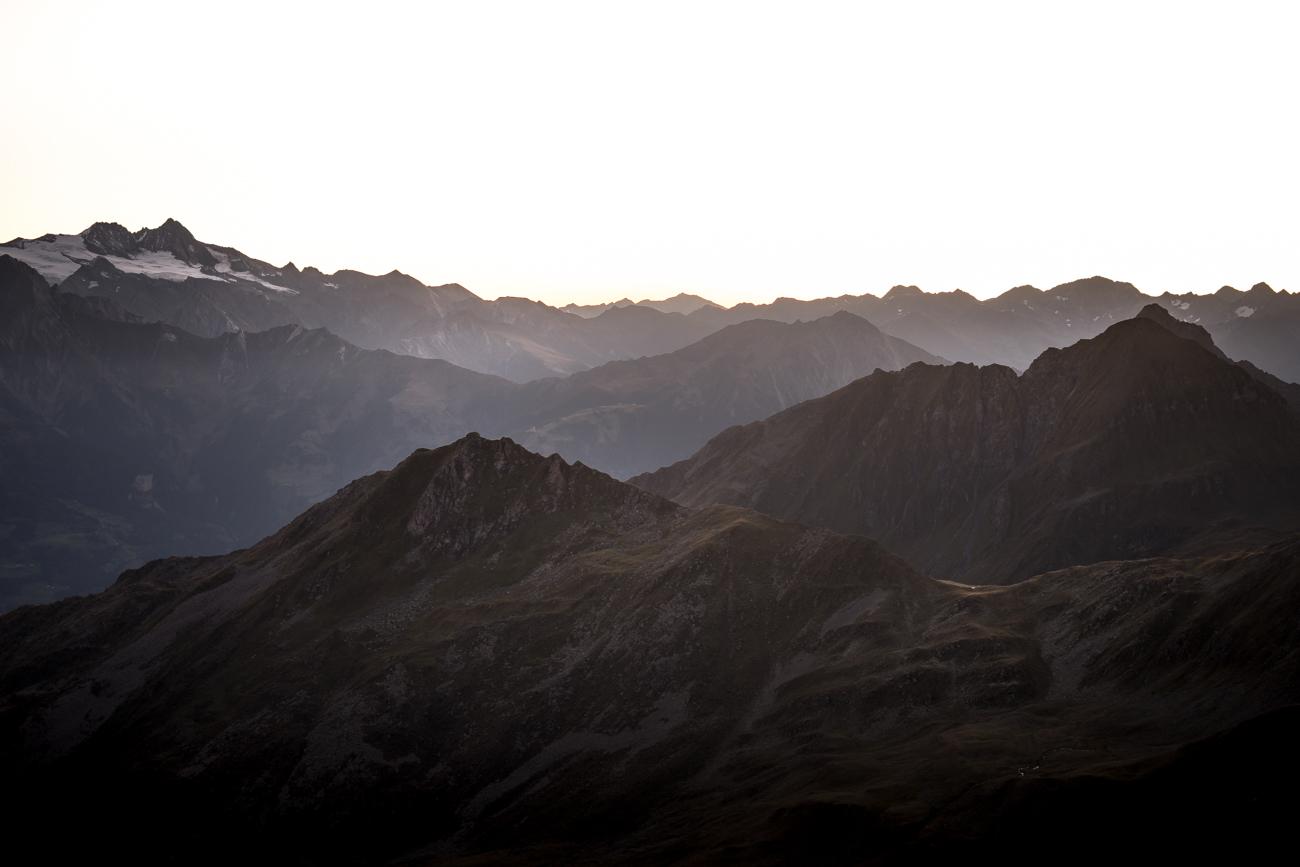 Sonnenaufgang auf Zupalkogel