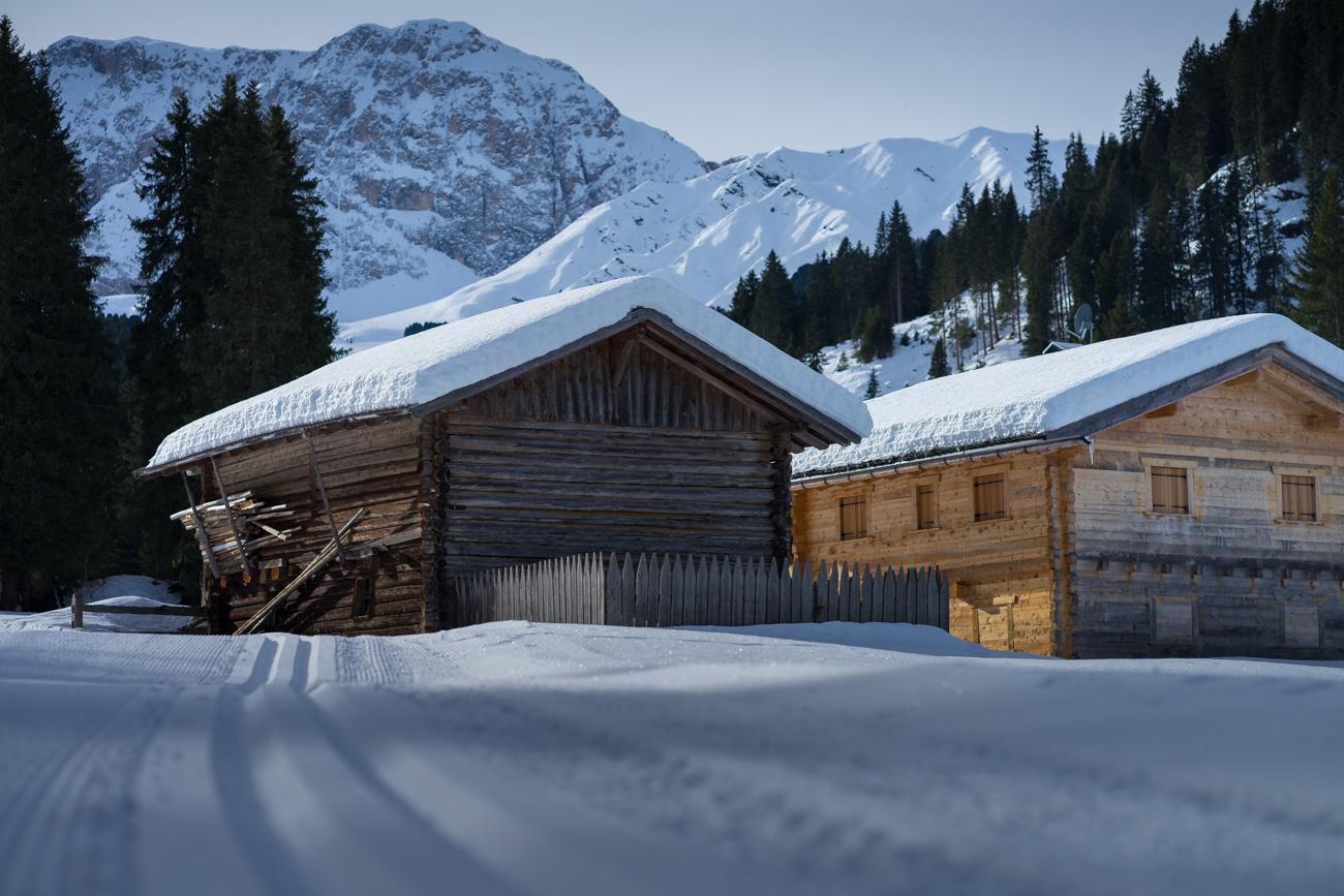...bei wundervollen Schneeverhältnissen!