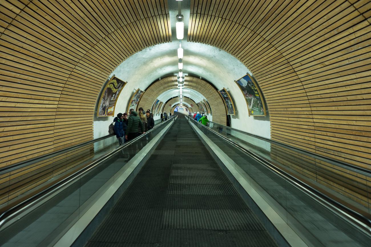 Tunnelquerung