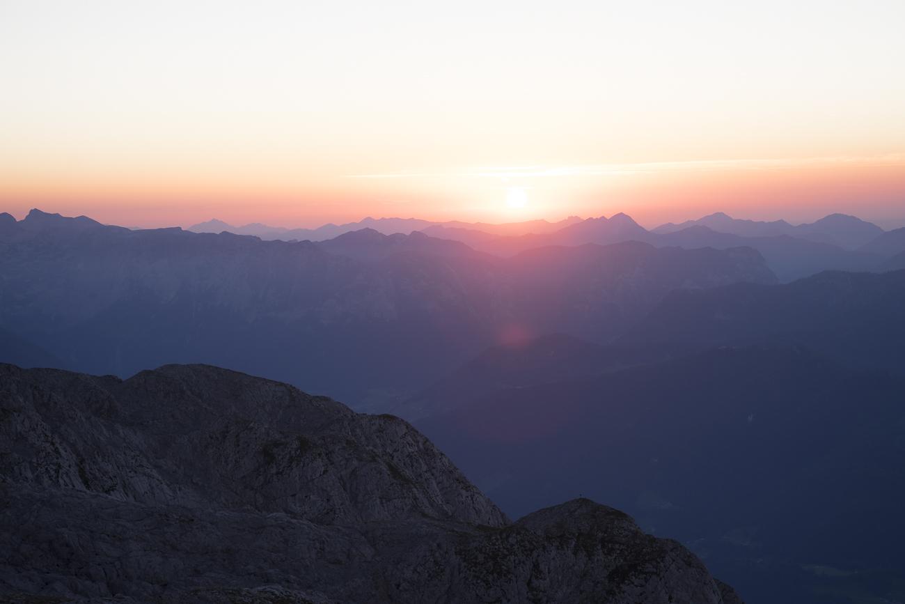 Sundowner im Berchtesgadener Land!