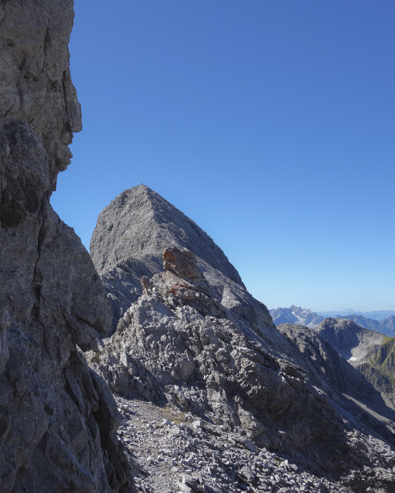 Der Bockkarkopf: Blick nach Westen