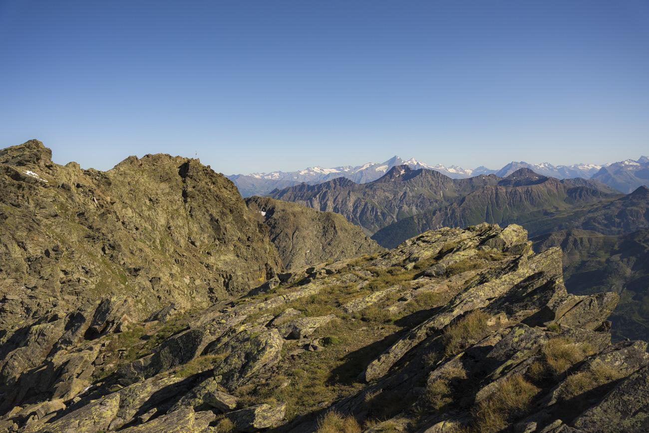Kurz vorm Gipfel der Pointe du Drône