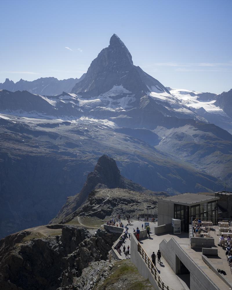 Das Matterhorn vom Gornergrat aus