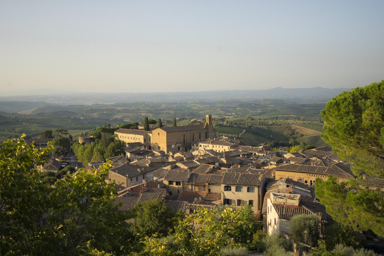 San Gimignano von oben