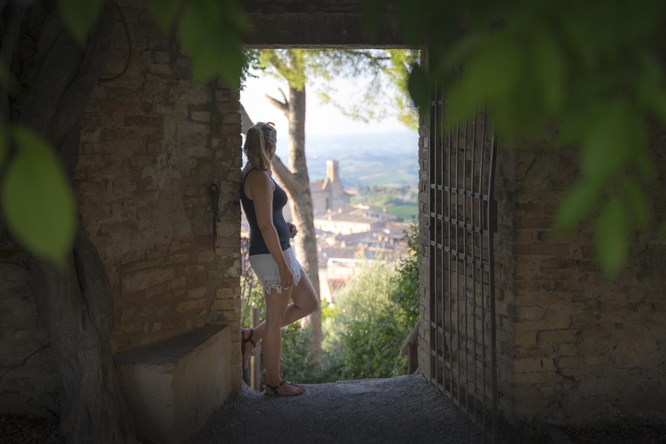 Kurzes Fotoshooting bei der Festung