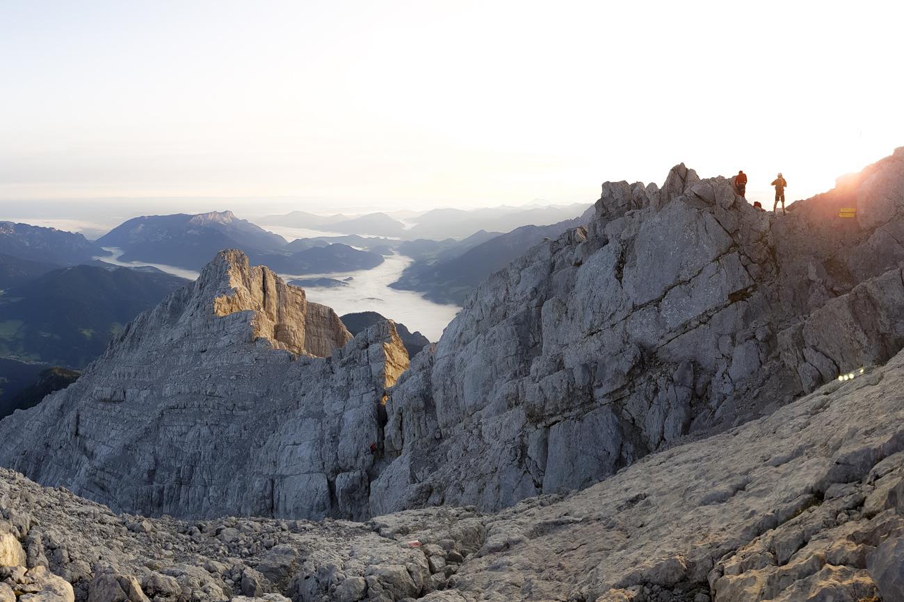 Eindrücke vom Gipfel der Mittelspitze