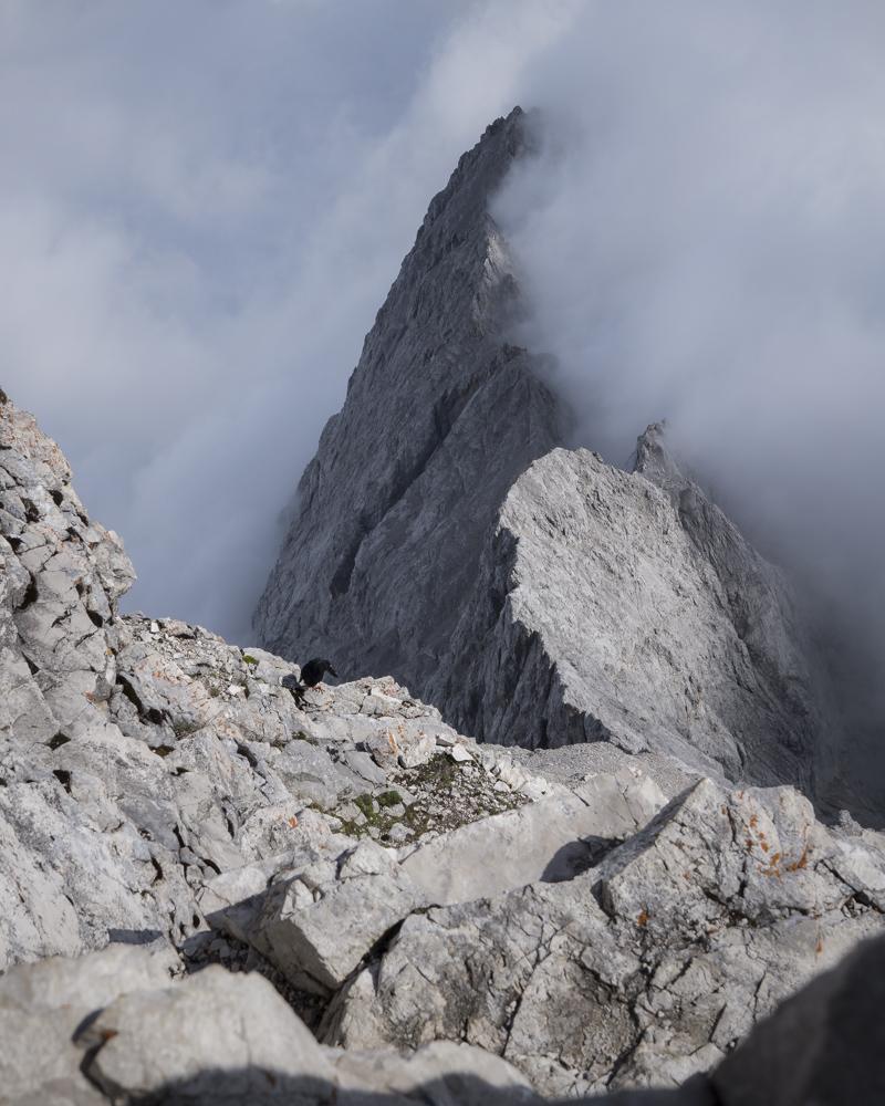 Nebelspiele im Wettersteingebirge!