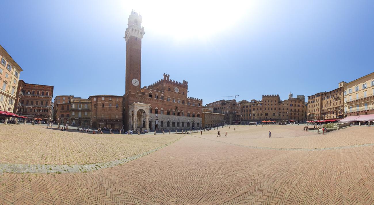 Am Piazza del Campo