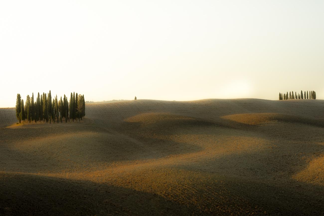 Ein beliebter Fotospot: Die berühmten Zypressenkreise