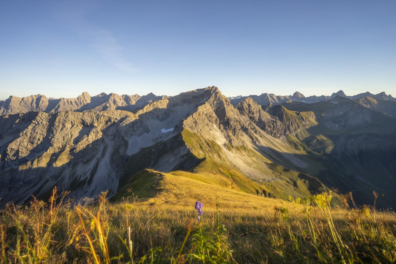 Zur Golden Hour am Himmeleck (2152 m)