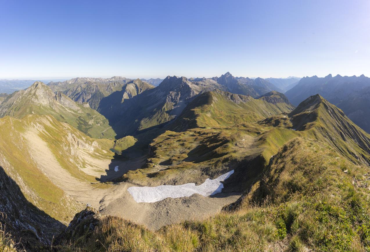 Gipfelpanorama am Rauheck