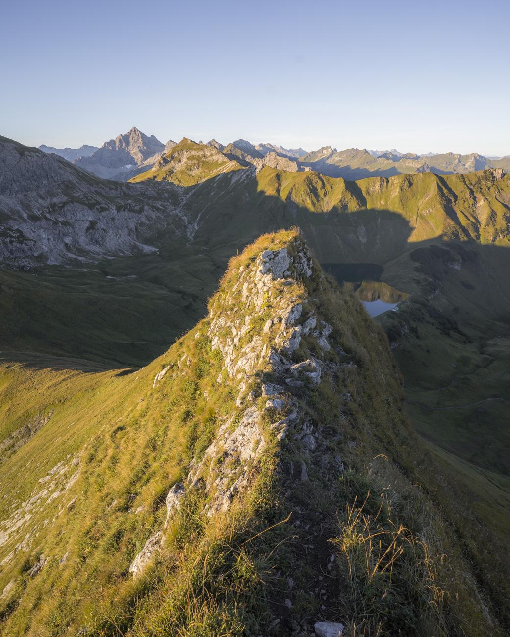 Im Abstieg vom Knappenkopf